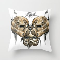 ZOMBIE IMPERIAL TROOPER  Throw Pillow