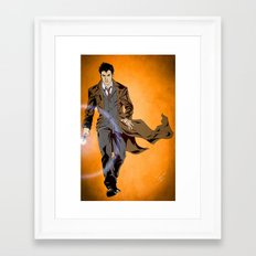 The Oncoming Storm Framed Art Print