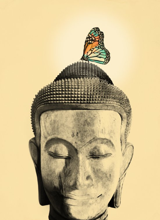 Buddha Series - Tranquil Art Print