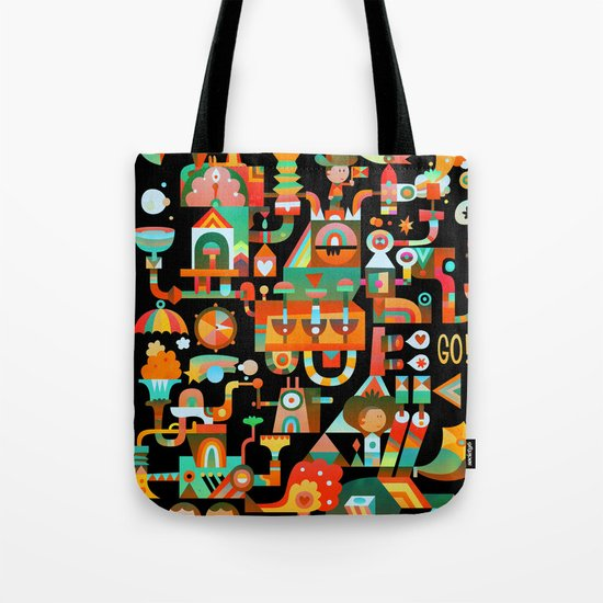 The Chipper Widget (Remix) Tote Bag