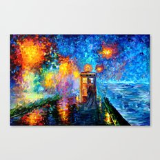 The 10th Doctor who Starry the night Art painting iPhone 4 4s 5 5c 6, pillow case, mugs and tshirt Canvas Print