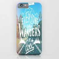 iPhone & iPod Case featuring Not everyone who wanders is lost by Beckah Carney Photography