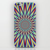 Red Blue And Yellow Supe… iPhone & iPod Skin
