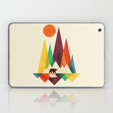 Bear In Whimsical Wild Laptop & iPad Skin