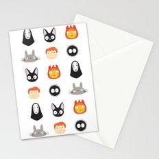 I Love Miyazaki 2.0 Stationery Cards