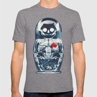Nesting Doll X-Ray Mens Fitted Tee Tri-Grey SMALL