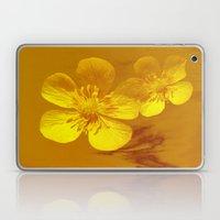 FLOWERS - Bonnie Butterc… Laptop & iPad Skin