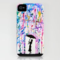 iPhone 4s & iPhone 4 Cases featuring Deluge by Marc Allante