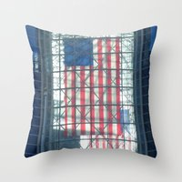 The Flag Throw Pillow