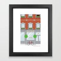 Pinwhistle Way Faccade Framed Art Print