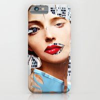 iPhone & iPod Case featuring Make me beautiful | Collage by Lucid House