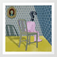 In The Dog House. Questi… Art Print