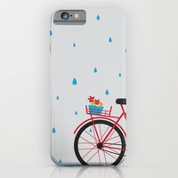 Bicycle & Rain iPhone 6 Slim Case