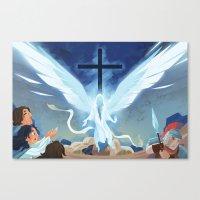 Like Lightning (by Melan… Canvas Print