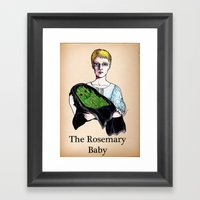 THE ROSEMARY BABY Framed Art Print