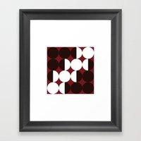 #384 Four Months – Geo… Framed Art Print