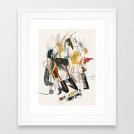 Healthy Framed Art Print