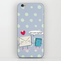 Stick Together iPhone & iPod Skin