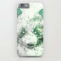 Green Panda Bear iPhone 6 Slim Case