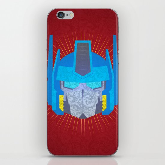 Optimus iPhone & iPod Skin
