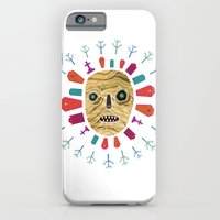 Halloween print: Mummy iPhone 6 Slim Case