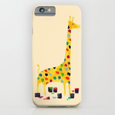 Paint by number giraffe Slim Case iPhone 6s
