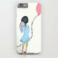 iPhone & iPod Case featuring When I Saw You I Fell In Love 2 by Trudi Drewett Illustration