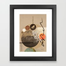 Into nothing Framed Art Print