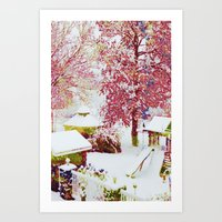 SNOW DAY - 015 Art Print