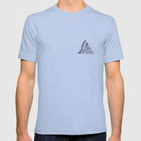 Tricoeur Mens Fitted Tee Athletic Blue SMALL