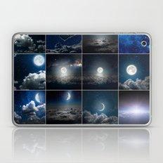 Moon Collage Laptop & iPad Skin