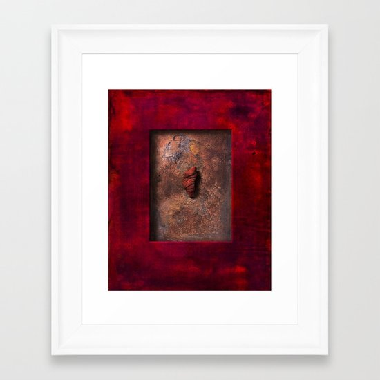 held tight Framed Art Print