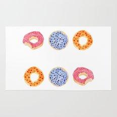 Doughnut Selection Rug