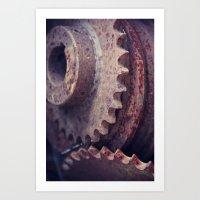 Rust 4 Art Print