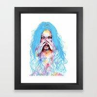 My True Colors Framed Art Print