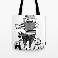 Hilary Goes Out Tote Bag