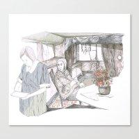 Maria, porfavor Canvas Print