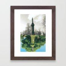 Do not dwell. Framed Art Print