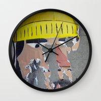 Weather-Beaten Fisherman Wall Clock