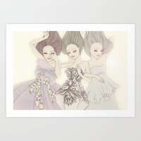 The best of Marchesa Art Print