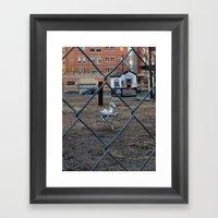 The Silver Hobby Horse 2 Framed Art Print