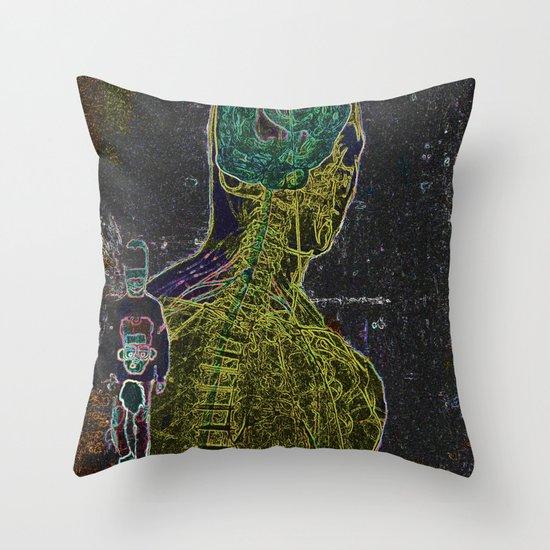 The Stranger Throw Pillow