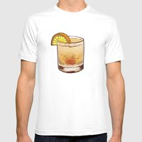 DRINK  Mens Fitted Tee White SMALL