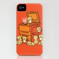 iPhone 4s & iPhone 4 Cases featuring The Original Copycat by Budi Kwan