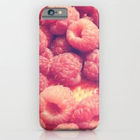 iPhone & iPod Case featuring Raspberries by StaceeIrvine