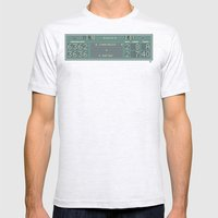 The Match Point Mens Fitted Tee Ash Grey SMALL