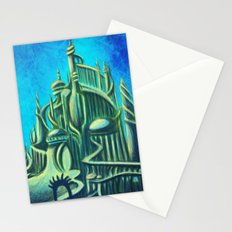 Mysterious Fathoms Below Stationery Cards