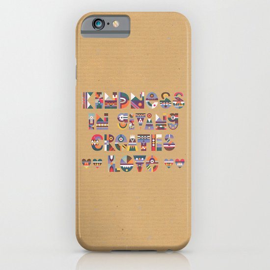 Kindness iPhone & iPod Case