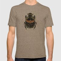 INSECT X Mens Fitted Tee Tri-Coffee SMALL