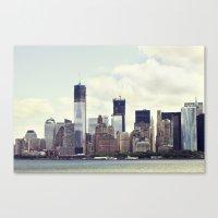 New York skyline Canvas Print